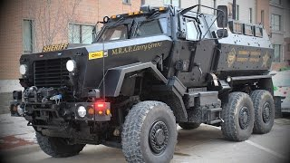 U.S. Police 'Need' Armoured Vehicles for Drug War