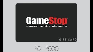 Get a Free $25 Gamestop Gift Card - 2015