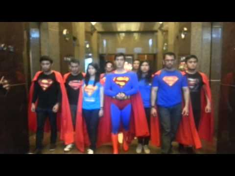 Superman Fans Of Indonesia Goes To Man Of Steel