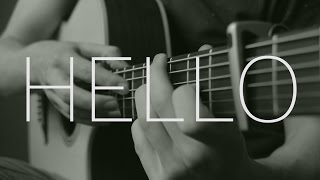 Adele - Hello - Fingerstyle Guitar Cover - Free Tabs