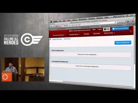 Ean Harker - Canvas Integration with Adobe Connect