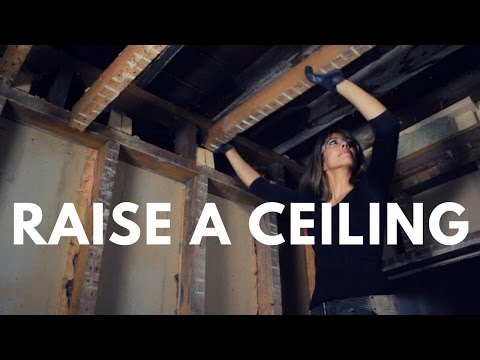 RAISING CEILINGS IN AN OLD HOUSE