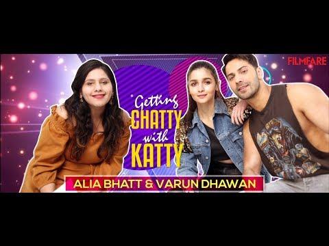 Alia Bhatt and Varun Dhawan pick Insta bios for stars | Getting Chatty with Katty | Filmfare Mp3
