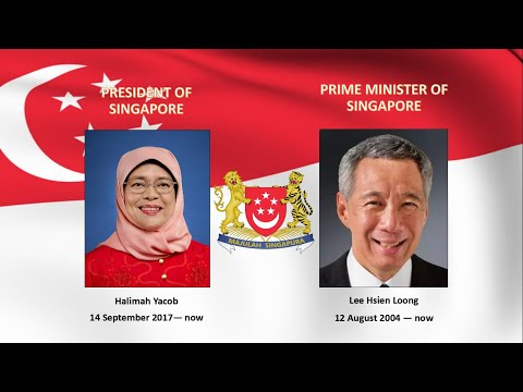 National Athnem of Republic of Singapore -