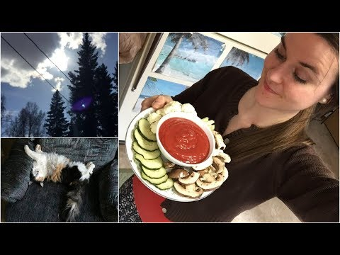 RAW VEGAN in Alaska:  what i ate today VLOG + summer has arrived!