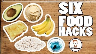 SIX FOOD HACKS | No food waste  Fast solutions
