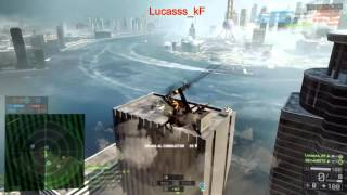 Battlefield 4 Gameplay #1 Shanghai Piloteando WZ-10.