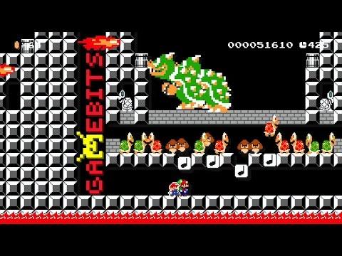 Let's Play Super Mario Maker: Mario & Luigi: Paper Jam (Event Course #13)