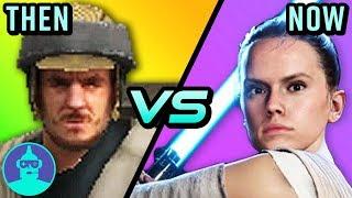 Star Wars Battlefront 2 - Then vs. Now (2005 vs. 2017) | The Leaderboard