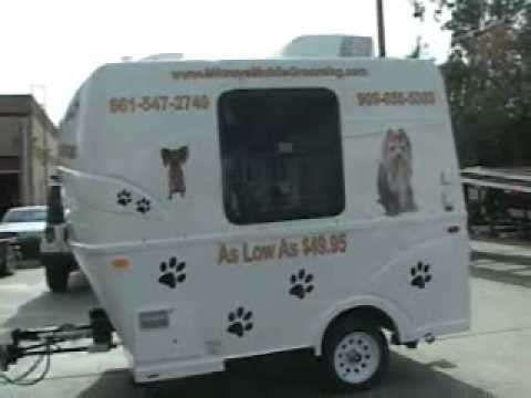 Dog Grooming Truck For Sale