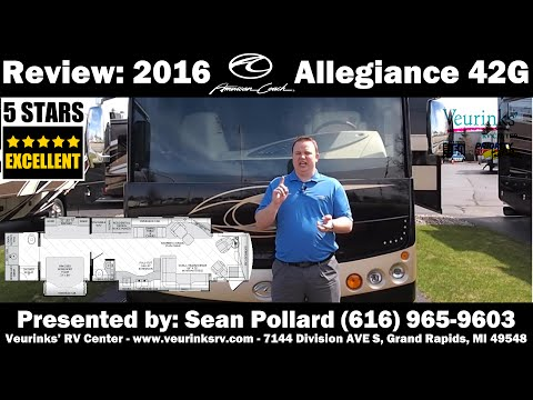 In-Depth Review: 2016 American Allegiance 42G By American Coach @VeurinksRV
