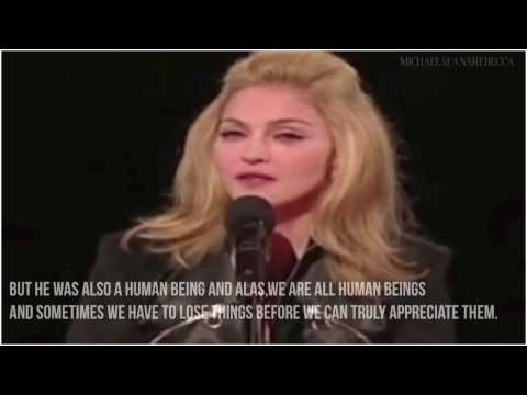 Madonna's tribute♔| LONG LIVE THE KING | ♔VMA 2009 w/subtitles HD