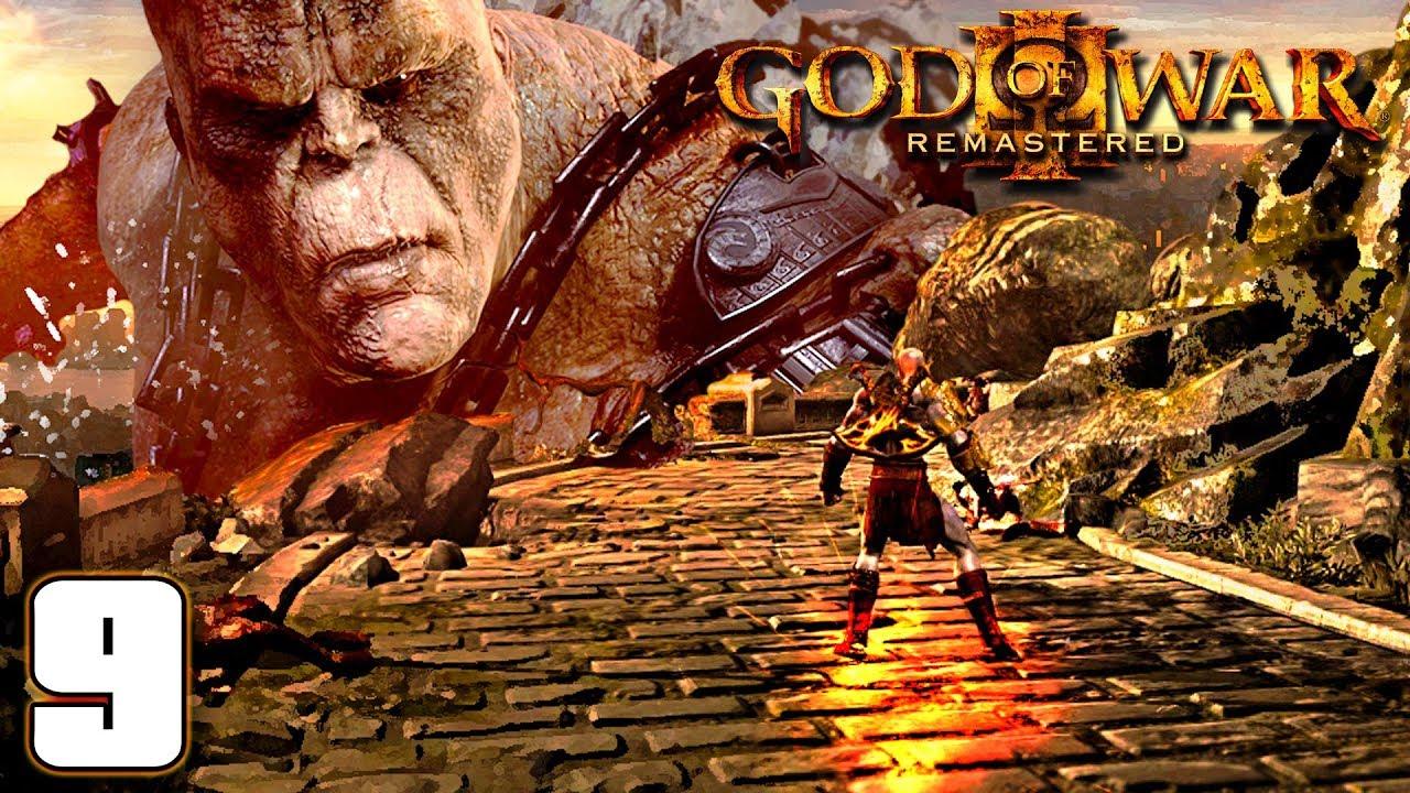 ដង្ហើមចុងក្រោយរបស់យក្សដី - Crono Boss - God of War III Remastered Story Mode Ep09 Khmer|VPROGAME