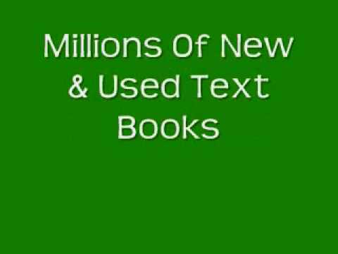 Used Text Books | Great Bargains & Discounts On Used Text B