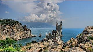 ПОСЛЕДНИЙ день лета.САМОЕ РОМАНТИЧЕСКОЕ МЕСТО В Крыму,Ласточкино гнездо.Крым сегодня.Отдых в Крыму