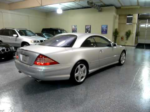 2003 mercedes benz cl500 2dr coupe 5 0l 1956 sold for Mercedes benz c500