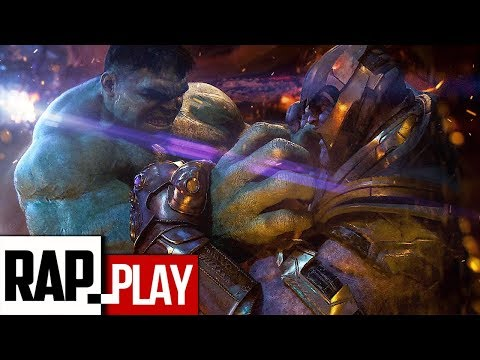 THANOS Vs HULK RAP | Zarcort, Kronno Zomber | Prod. by Hollywood Legend