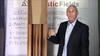Sound Diffusion Vs Sound Redirection - www.AcousticFields.com