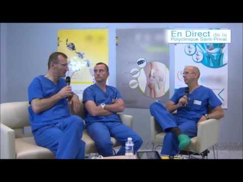Ligamentoplastie du genou sous arthroscopie - Dr H.Silbert