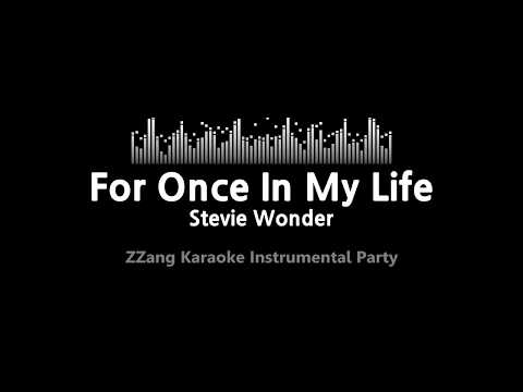 Stevie Wonder-For Once In My Life (Instrumental) [ZZang KARA