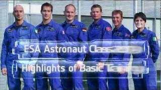 ESA Astronaut Class 2009 Basic Training