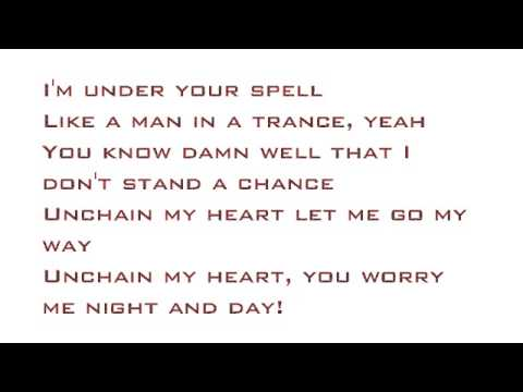 Unchain My Heart- Joe Cocker Lyrics Video