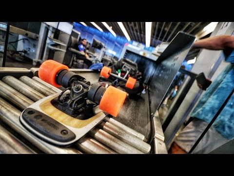 HOW TO GET A BOOSTED BOARD ON AN AIRPLANE