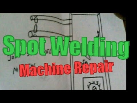 How to spot welding machine joint repair in hindi 2018