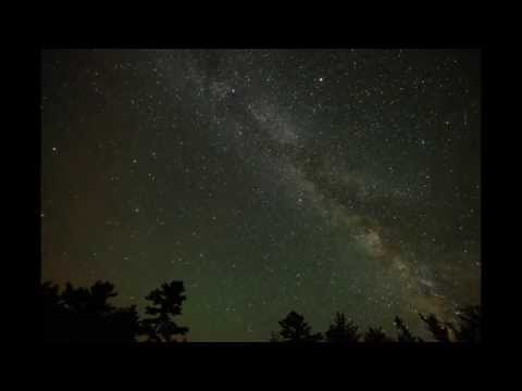 Milky Way Time Lapse from the Kejimkujik National Park and National Historic Site Dark Sky Circle