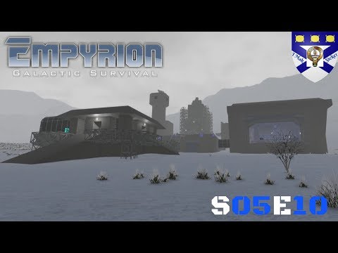 """Empyrion Galactic Survival (S05) -Ep 10 """"Our 1st Mining Facility"""" -Multiplayer """"Let's Play"""""""