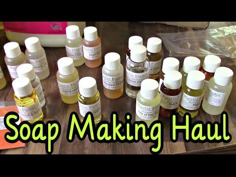 Soap Making Supplies Haul
