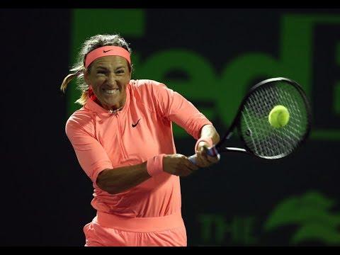 2018 Miami Third Round | Anastasija Sevastova vs. Victoria Azarenka