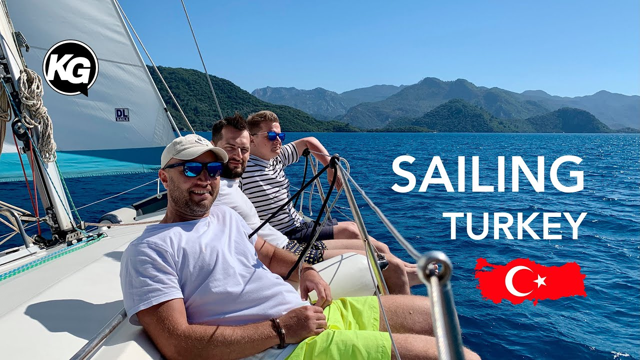 Sailing Turkey / Yachting Practice / Travel Vlog
