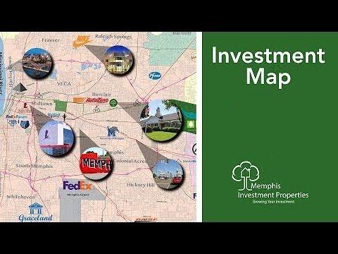 Memphis Investment Properties Map