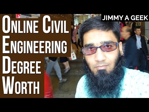 Career Questions  - Is a Online Civil Engineering Degree Worth it ?