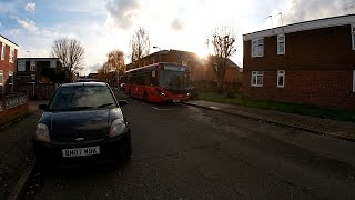 Full Route Visual | London Bus Route W11 Walthamstow Central to Chingford Hall Estate YY66PYL 1244