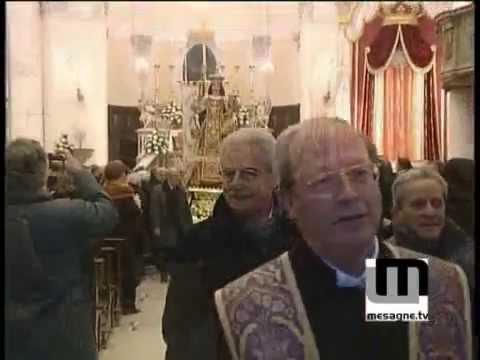 Festeggiamenti della madonna del Carmine 20 febbraio 2009