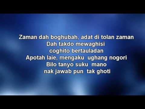 W.A.R.I.S feat Dato Hattan - Gadis Jolobu [Lyrics]
