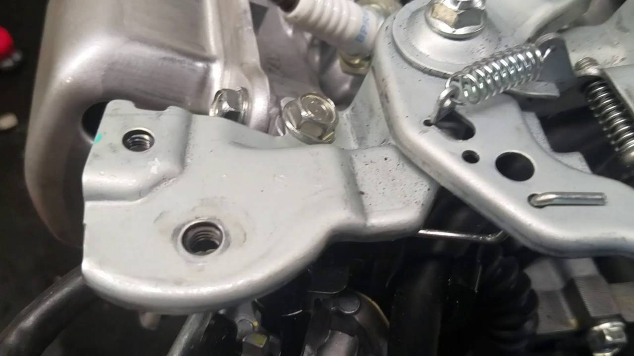 honda gx160 gx220 clone throttle linkage without governor youtube [ 1280 x 720 Pixel ]
