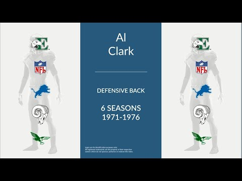 Al Clark: Football Defensive Back