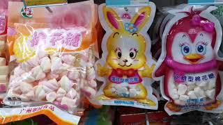 """Покупки в КИТАЕ! ШОППИНГ НА ХАЙНАНЕ. ЕДА, ТЦ """"АНАНАС"""" что купить в КИТАЕ конфеты из КИТАЯ"""