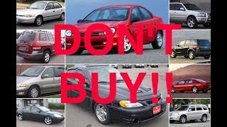 10 Used Cars You Should NEVER Buy (PART 4) thumbnail