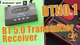 DTNO.1 Bluetooth Adapter 5.0 PLUS Test: Transmitter - Receiver Qualc...