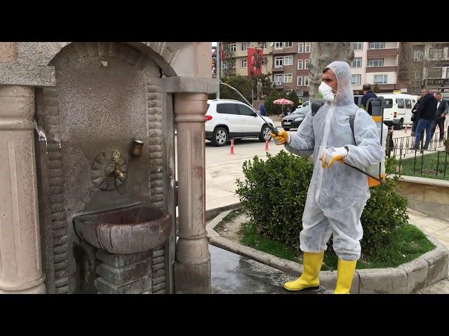 Korona Virüsüne Karşı Dezenfektasyon İşlemi