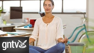 Yoga to relieve office stress: Exercise 2