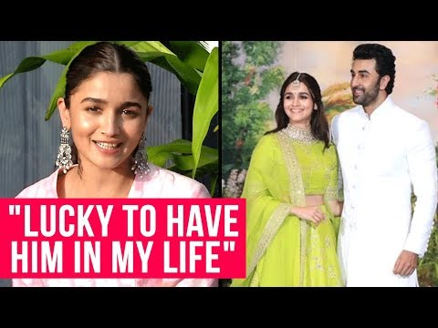 Alia Bhatt Breaks Silence On DATING Ranbir Kapoor | Alia Ranbir At Sonam Anand Reception
