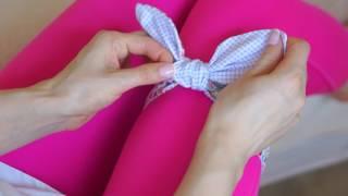 Как завязать повязку ''Солоха'' красиво
