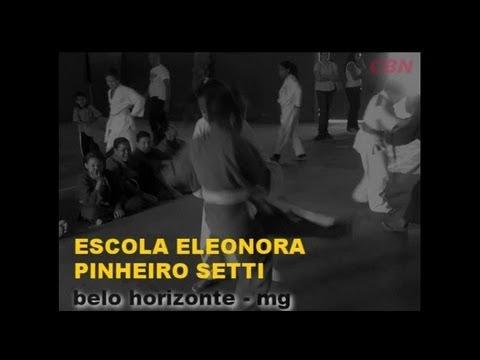 f051fd556 SÉRIE CBN - ESPORTE DE BASE NO BRASIL - ESCOLA ELEONORA PINHEIRO SETTI