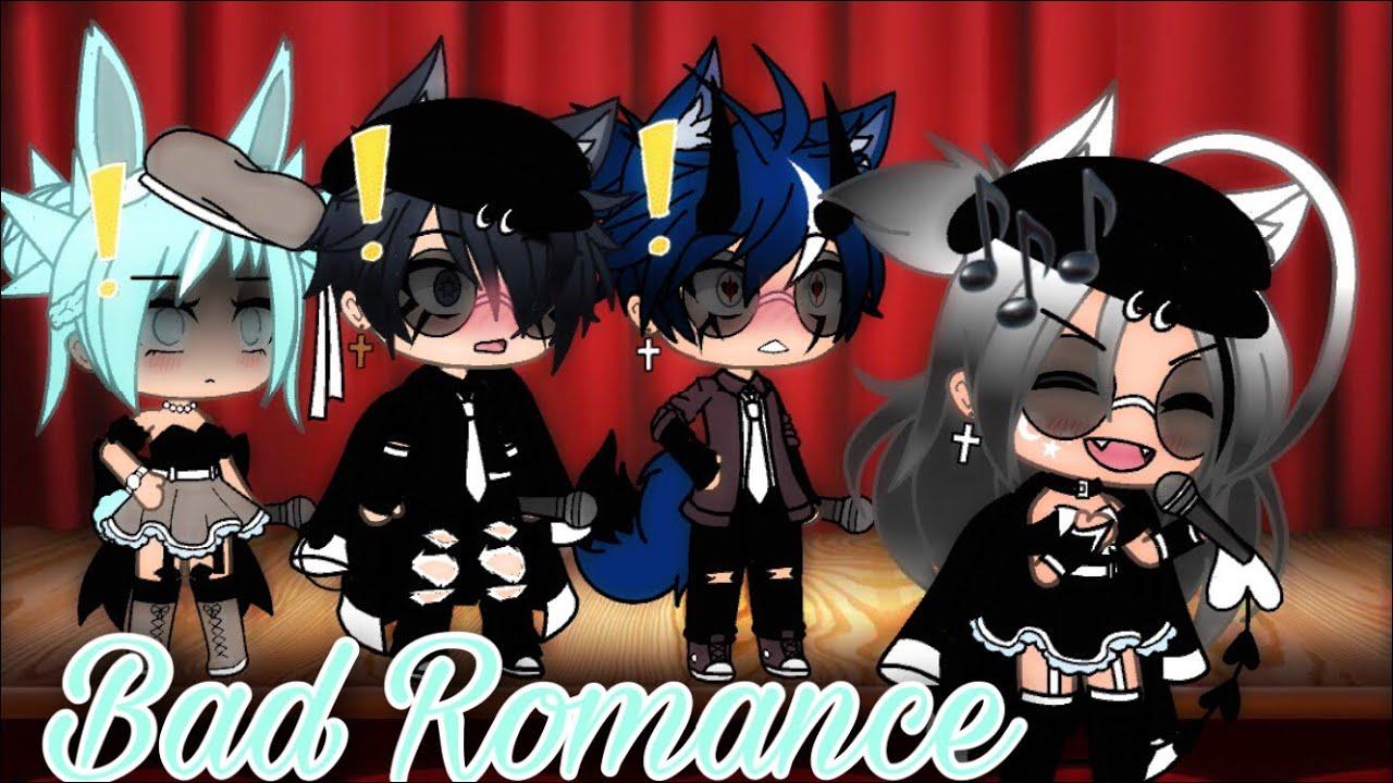 Bad Romance -❤️!.    ~Gacha•Life~ -?!.    Band Version -?!.    Ft: Crystal & Levi -❤️!.   