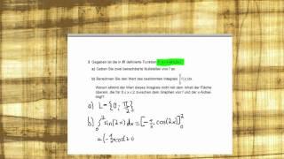 Abitur Mathematik 2012 Bayern - Analysis Aufgabengruppe I - Teil 1 Aufgabe 3